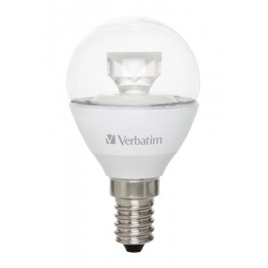Verbatim 52617 LED Mini Globe E14 4.5W 2700K WW 250LM Clear