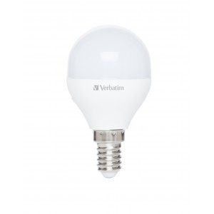Verbatim 52639 LED Mini Globe E14 3.1W-25W ND 2700K 250lm Frost
