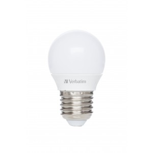 Verbatim 52642 LED Mini Globe E27 4.5W-30W ND 2700K 350lm Frost